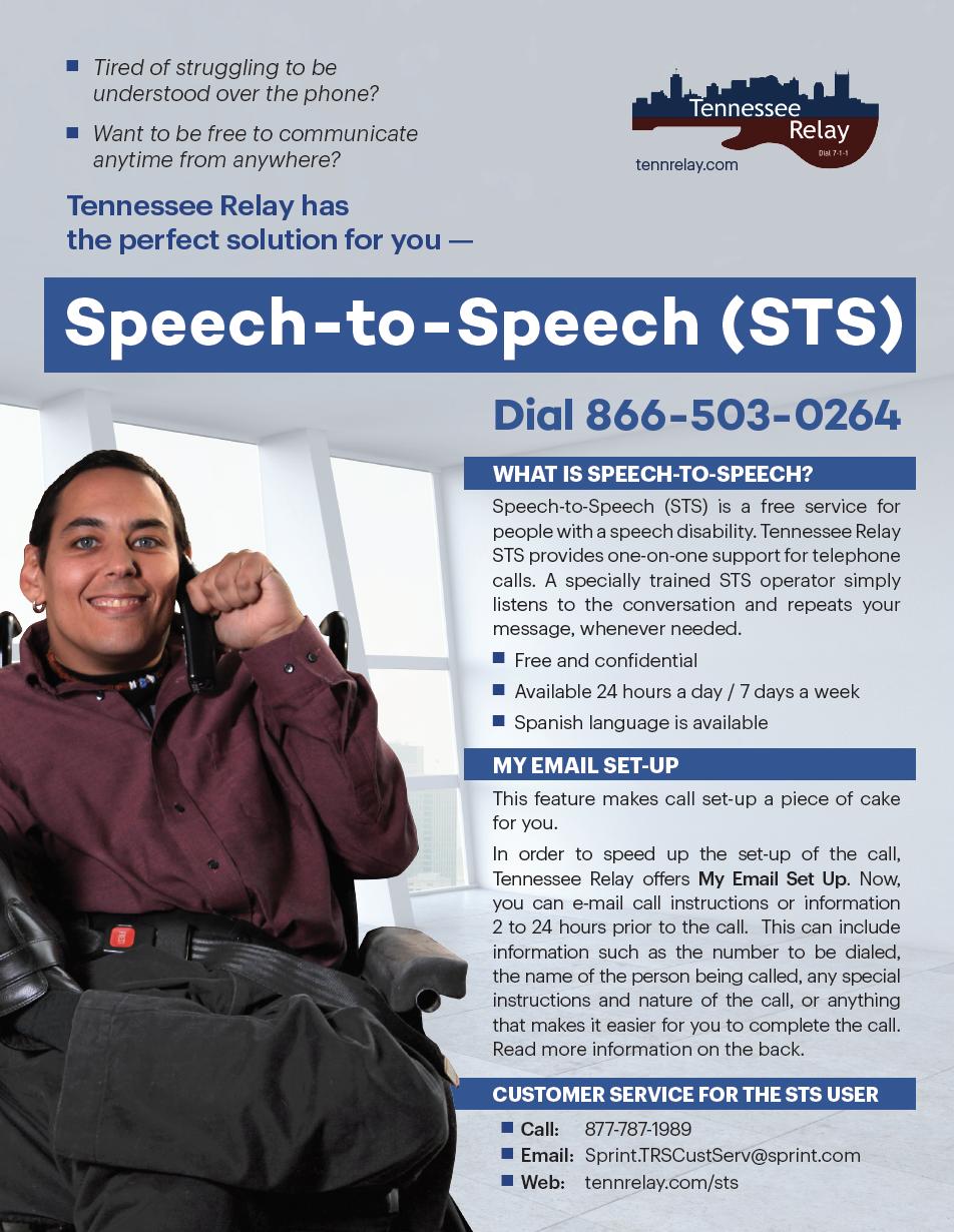 Speech-to-Speech Flyer